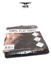 Drap Vinyle �tanche et solide  pour vos pratiques amoureuses accompagn�es de gels, huiles, et autres liquides.