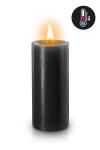 Bougie noire sp�ciale pour vos sc�narios BDSM. Elle fond � basse temp�rature pour �viter les brulures.