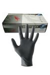 100 Paires de gants en latex noir pour jouer au docteur.