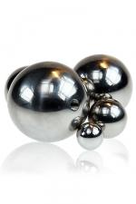Balle métal vissable - L'accessoire à associer à votre sextoy métal pour varier les plaisirs.
