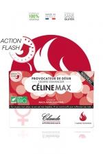 Provocateur de désir Flash CélineMax - Stimulateur sexuel pour femme à effet rapide, 1 dose en sachet.
