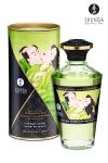 Huile aphrodisiaque comestible et chauffante, activ�e par la chaleur de la peau ou les baisers, by Shunga.