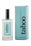 Eau de toilette Taboo Epicurien, un parfum viril pour les hommes, aux senteurs Marine et fraiche.