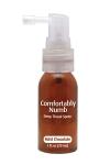 Spray parfum� � la menthe chocolat pour pratiquer agr�ablement une gorge profonde.