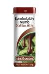 Petits bonbons d�sensibilisants ar�me menthe chocolat formul�s pour pratiquer agr�ablement une fellation.