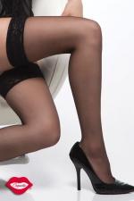 Bas nylon Carry - Bas nylon autofixants, de belles jambes sexy, sans porte-jarretelle !