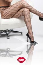 Collant résille Diamond Net - Un collant à large résille, filet minimal qui vous ... déshabille.