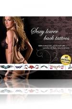 Tatouages sexy (bas du dos) - 40 Tatouages sexy temporaires pour le creux de vos reins .