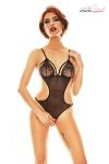 Superbe body ouvert tr�s minimaliste mais tellement sexy fabriqu� en Europe par Ana�s Lingerie.