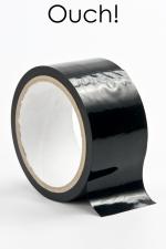Ruban de bondage 20 m - noir - ruban de bondage noir (20 m), non collant, utilisable pour toutes sortes de jeux coquins, au gré de vos fantasmes.