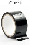 ruban de bondage noir (20 m), non collant, utilisable pour toutes sortes de jeux coquins, au gr� de vos fantasmes.