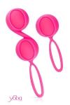 coffret comprenant une boule de geisha solo et une paire de boules de geisha en silicone Premium + ABS, de la marque Yoba.