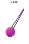 Love Ball unique couleur violet et fushia, en silicone premium, hyper silencieuse, id�ale � porter au quotidien.