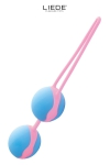 Love balls bleu et rose - Liebe
