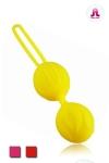 Boules de Geisha de derni�re g�n�ration,  taille classique, avec contact  Ultra Soft Touch , par Adrien Lastic.