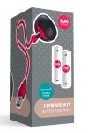Avec l'hybrid Kit, transformez votre sextoy Battery + en vibromasseur rechargeable.