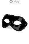 Masque noir unisexe orient� Fetish SM,  par Ouch!