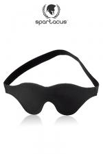 Masque cuir BlackLine - Bandeau en cuir Spartacus pour Une immersion totale au coeur de vos sensations.