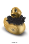Mini Duckie Paris, dor�, avec son bec paillet�... un cadeau coquin incontournable pour la faire craquer.