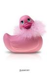 Le c�l�bre canard vibrant en version glamour et sexy de voyage! (coloris rose)