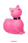 Après le canard mondialement connu, Big Tease Toys nous présente le chat, coloris rose!