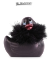 Le c�l�bre canard vibrant  en version mini Paris noir. nouveau mod�le plus silencieux avec 7 modes de vibrations.