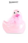 Le c�l�bre canard vibrant  en version mini Paris rose. nouveau mod�le plus silencieux avec 7 modes de vibrations.