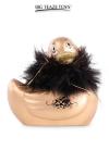 Le c�l�bre canard vibrant  en version mini Paris dor�. nouveau mod�le plus silencieux avec 7 modes de vibrations.