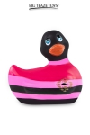 D�clinaison � t�te noire du c�l�bre canard vibrant dans la collection  Colors . I Rub My Duckie est d�sormais en version 2.0.