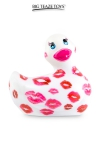 D�clinaison blanche et rose du c�l�bre canard vibrant dans la collection  Romance .  I Rub My Duckie est d�sormais en version 2.0.