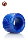 La r�f�rence des ball-stretchers, version grande taille,  100% silicone Platinum, marque Oxballs, coloris bleu.