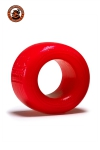 Le ball-stretcher phare de la marque Oxballs, en version  small , coloris rouge, plus accessible et utilisable pour s'entrainer.
