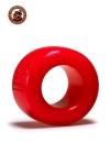 Le ball-stretcher phare de la marque Oxballs, en version  small , coloris rouge, plus accessible et utilisable pour s'entrainer.