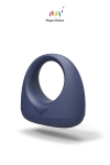 Dante Smart Wearable Ring est un cockring vibrant connect� hyper-performant pour les plaisirs du couple.
