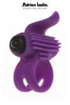 Anneau vibrant pour couple ou mini stimulateur, le Bullet Lastic ring c'est 2 sextoys en 1.