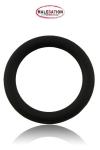 Cockring noir haute qualit� en silicone disponible dans un diam�tre de 4 cm, 4,5 cm et 5 cm.