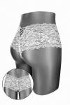 Boxer coquin blanc, �chancr� et ouvert entre les cuisses, par Fashion Secret.