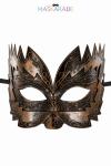 Masque cuivr� semi rigide et haut pour jouer les Don Juan en toute discr�tion, par Maskarade.