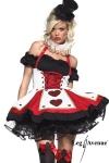 Fin de s�rie : uniquement disponible en XS. Un costume de charme pour joueuse de cartes avertie !