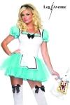 Costume sexy d'Alice au Pays des Merveilles.