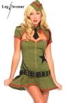 Costume militaire Pin Up, les belles d'armes de l'Oncle Sam.
