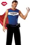 Costume de super h�ros au pouvoir indispensable : servir des canettes toujours fra�ches !