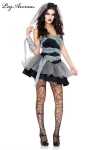 Soirée costumée pour Halloween ? Restez sexy avec ce costume de Mariée mort-vivante.