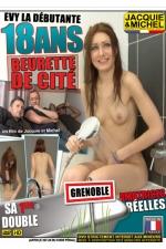Evy 18 ans - sa 1ere double - DVD spécial amatrices avec Evy, une beurette de Grenoble de 18 ans qui se lache sexuellement.