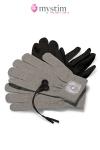 Paire de gants de stimulation par impulsion �lectrique pour atteindre de nouveaux sommets de plaisir!