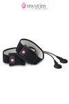 Stimulateur MyStim par impulsions �lectriques pour le p�nis et / ou les testicules.
