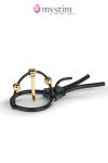 1 dilatateur d'ur�tre et 2 boules dor�es pour une stimulation �lectrique intense sur le gland et � l�int�rieur de la verge.