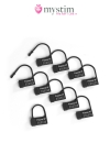 10 cadenas plastique mono-utilisation pour sceller votre cage de chastet�.