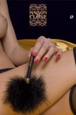 Le plumeau Caresse - Un petit plumeau de marabou, pour prodiguer de légères caresses enivrantes...