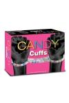 D�couvrez les Candy Cuffs, une paire de menottes comestibles en bonbons Candy pour vos jeux coquins et gourmands.
